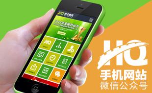 恆企教育集团官网手机版+微信平台开发